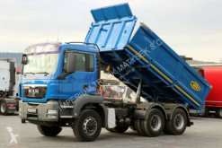 camion MAN TGS 26.440 / 6X6 / 3 SIDED TIPPER / BORTMATIC /