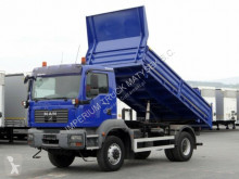 camion MAN TGM 18.280 / 4X4 / 3 SIDED TIPPER /