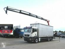ciężarówka MAN TG-S 26.360 6x2-2 BL Pritsche Heckkran 5xhydr, f
