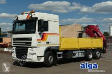 camion DAF XF 105.410, MKG Kran, Retarder,AHK, 3x am Lager!
