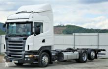 ciężarówka Scania R420 Fahrgestell 7,50 m Topzustand!