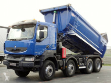 camion Renault KERAX 460/ 8X4 / TIPPER / EURO 5 / HYDRO-FLAP /