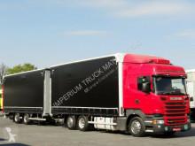 ciężarówka Plandeka Scania
