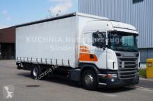 Scania LKW Pritsche und Plane
