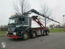 camion Hiab MERCEDES-BENZ - ACTROS 3248 8X4 WITH CRANE/KRAN XS244 EURO