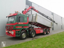 HMF MERCEDES-BENZ - ACTROS 3244 8X4 2420 FULL STEEL EURO 3 truck