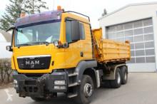 camião MAN TGS 26.480 6x4 Meiler DSK, Kommunalausrüstung*