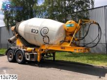 trailer MOL Beton mixer 10 M3, Imer group LT 100 H 10000 Liter Beton / Concrete Mixer