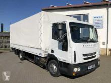 camion Iveco Eurocargo ML75E16 Pritsche/Plane + LBW Euro 6