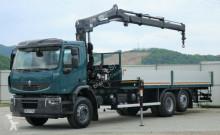 ciężarówka Renault Premium 410 DXI Pritsche 7,50m+Kran *6x2*