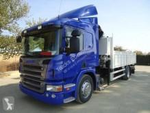 vrachtwagen platte bak Scania