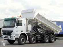 camion Mercedes ACTROS 4141 / 8X4 / 2 SIDED TIPPER / BORTMATIC /