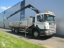 Scania P94.300 6X2 HIAB 085-3 MANUAL EURO 2 truck