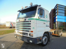 камион Scania 143.420 Chassis / Manual / 6x2 / Full Steel