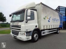 DAF CF65.250 / Curtain side / Euro 4 / Loading PLatform truck