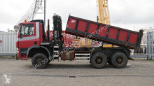 Ginaf X3331/430 3 SIDE TIPPER WITH TIRRE 181 CRANE