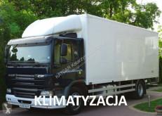 camion DAF CF 65.220 EURO 5, kontener 18 pal, winda, poduszki