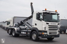 Meiller SCANIA - G400 / E 5 / PDE / HAKOWIEC / OŚ SKRĘTNA truck