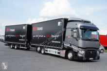 vrachtwagen Renault - T 460 / EURO 6 / ZESTAW PRZESTRZENNY 120 M3 + remorque