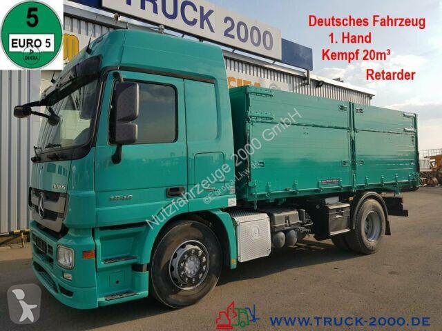 Voir les photos Camion Mercedes 1846 20m³ Alu Kempf Getreide Retarder 1.Hand