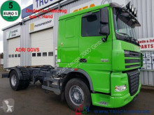 DAF XF105.460 Deutscher LKW 1. Hand ADR/ GGVS AHK50t truck