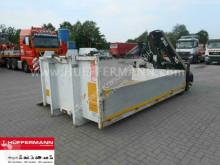 Mercedes Garant Abrollbehälter HIAB Ladekran XS122 D2 truck