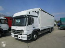 camion Mercedes ATEGO III 1224 L SCHLAFKABINE Pritsche/Plane 7 m