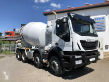 camion Iveco TRAKKER AD340T41B 8x4 Betonmischer Stetter 9m³