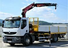 vrachtwagen Renault Premium 270dxi Pritsche 7,00m + Kran 4x2!