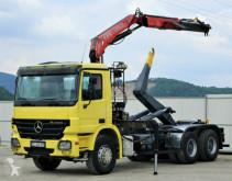 Mercedes Actros 2641 Abrollkipper 4,80m+ Kran*6x4* truck