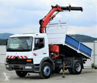 Mercedes ATEGO 1517 Kipper 3,40m+Kran Topzustand! truck