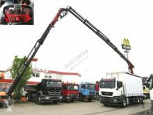 camião MAN TG-S 26.360 6x2-2 BL Pritsche Heckkran Palfinge