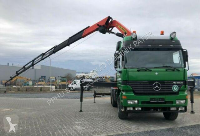 Zobaczyć zdjęcia Ciężarówka Mercedes ACTROS 3353 6x6 PALFINGER PK 35000 F WINDE Kran