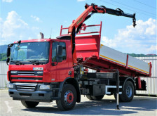 DAF CF 75.310 *Kipper 5,20 + Kran*Topzustand! truck