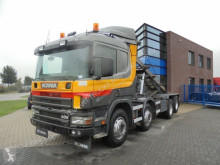 камион Scania 124G400 / 8x2 / Kipper / Manual / Euro 2 / Full Steel