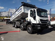 Iveco two-way side tipper truck