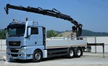 ciężarówka MAN TGX 28.480 Pritsche 6,60m + Kran * 6x2