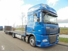vrachtwagen DAF XF105.460 SSC ATE / Platform / Euro 5 / Intarder + Trailer Hydra