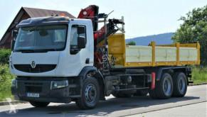 camion Renault Premium 320 DXI Kipper 6,20m+Kran/FUNK *6x4