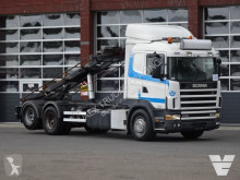 Scania 164-580 LB6x2NB Container cable system, Low Kilometer!! truck