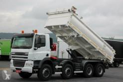 vrachtwagen DAF CF 85.410 / 8X4 / 2 SIDED TIPPER /BORTMATIC /