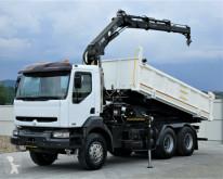 camion Renault KERAX 370 DCI Kipper 5,10m + Kran 6x4