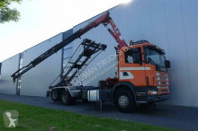 vrachtwagen containersysteem Scania