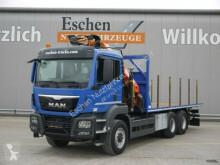 camión MAN TGS 26.440 H, 6x6, Palfinger PK 33002 EH Kran
