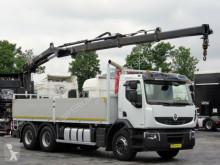 camion Renault LANDER 430 DXI / 6x4 /CRANE HIAB 166 / REMOTE
