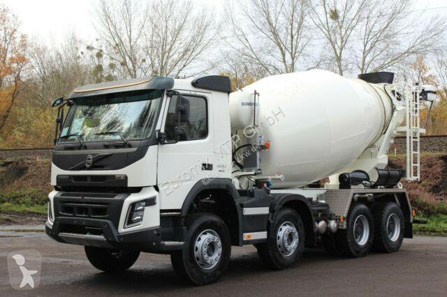 Voir les photos Camion Volvo FMX 430 8x4 /EuromixMTP EM 10m³ Vermietung