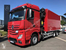 camion Mercedes Actros 2543 L 6x2 Koffer+LBW+Kran+Fly-Jib+Winde