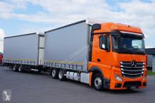 ciężarówka nc MERCEDES-BENZ - ACTROS / 2542 / E 6 / ZESTAW 120 M3 / BIG SPACE + remorque