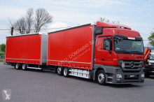 camión nc MERCEDES-BENZ - ACTROS / 2544 / E 5 / ZESTAW 120 M3 / MEGA SPACE + remorque