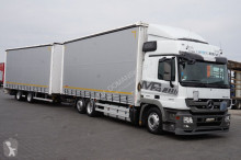 ciężarówka nc MERCEDES-BENZ - ACTROS / 2541 / EEV / ZESTAW PRZEJAZDOWY 120 M3 + remorque